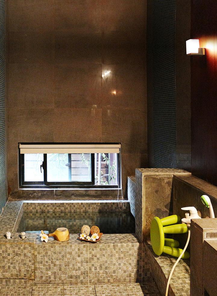 金山沐舍溫泉酒店-雙人泡湯