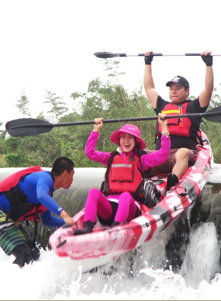 獨木舟輕體驗-雙溪
