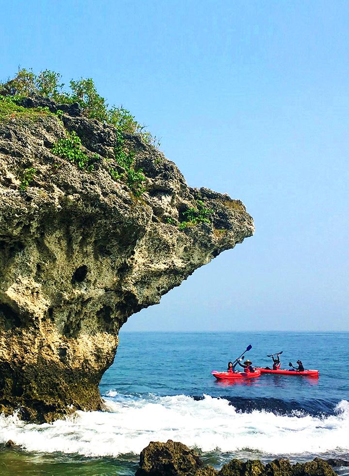 獨木舟深體驗-小琉球繞島
